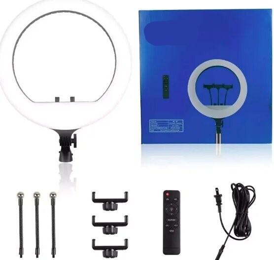 Кольцевая Led лампа RL-14 Soft Ring 36см 36W с дистанционным управлением и штативом 2м и пультом в подарок